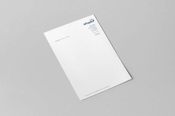 Inprojekt  // Briefpapier