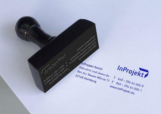 Inprojekt // Stempel