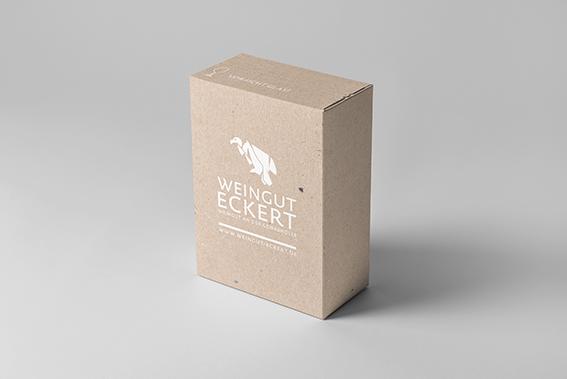 Weingut Eckert // Kartonage